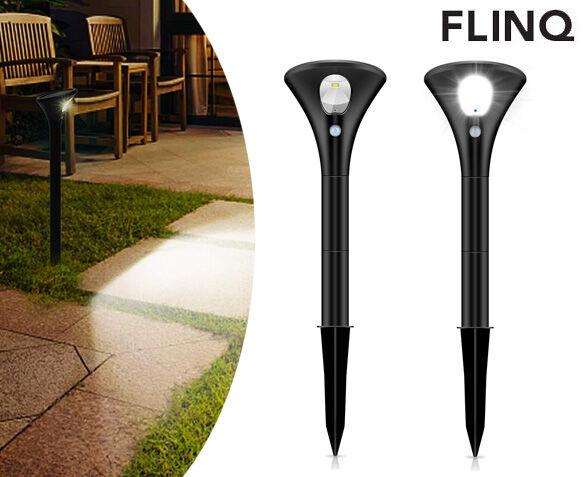 2-Pack FlinQ Solar Lamp