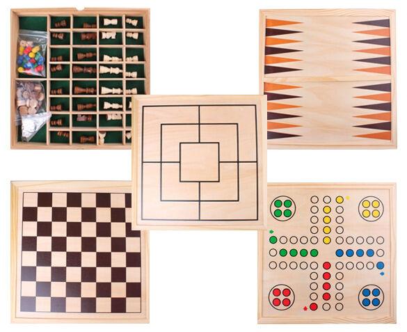 5-in-1 Spellenbord