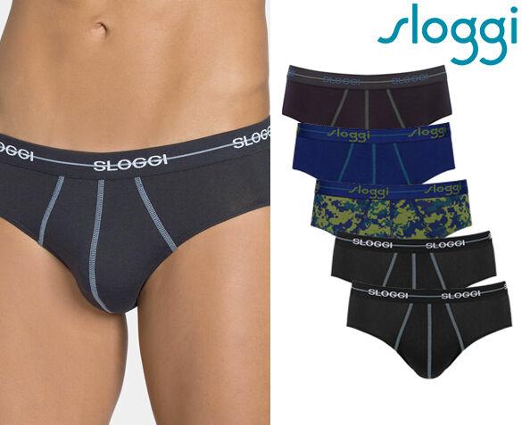 6-Pack Sloggi Men Start Midi