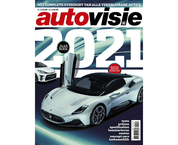 Autovisie Jaarboek 2021