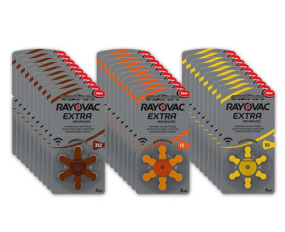 Mega Pack Rayovac Gehoorapparaatbatterijen
