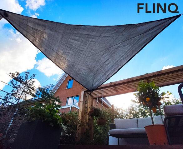 FlinQ Schaduwdoek met Solar LED Lichtjes