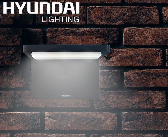 Hyundai L-shape Solar Flat Light