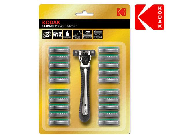 Kodak Ultra Scheermes + 20 Scheermesjes