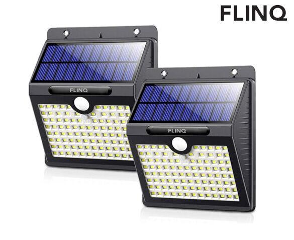 Set van 2 FlinQ Solarlampen 97 LED